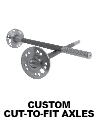 Custom Length Axle Shafts