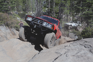 Jimmy Claypool, master of the Rubicon Trail in his SAS 4Runner