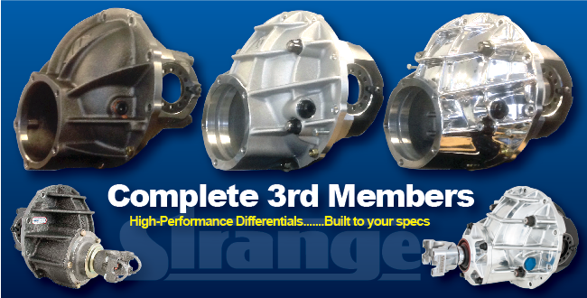 High Performance Strange Engineering 3rd Member Ford 9 Differentials