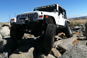 "Jeep TJ LCG 37"" Tires"