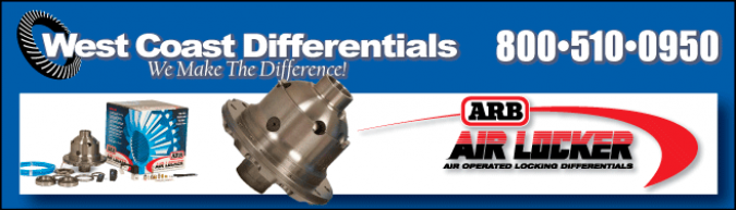 ARB Air Locker - Selectable locking differentials