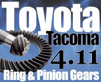 Tacoma 4.11 Gears Sierra Gear and Axle