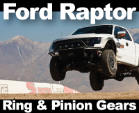 Ford SVT Raptor Differential Gears