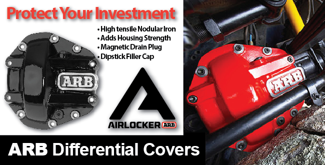 Off Road 4x4 Differential Cover