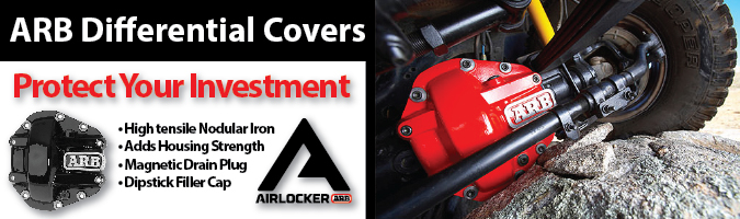 Heavy duty diff cover ARB Air Locker
