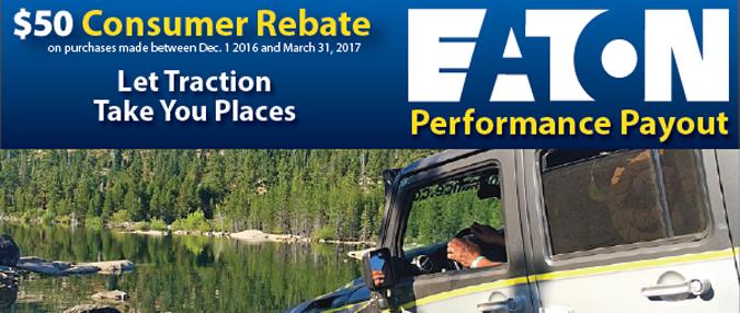 Detroit Locker Rebate EATON 50