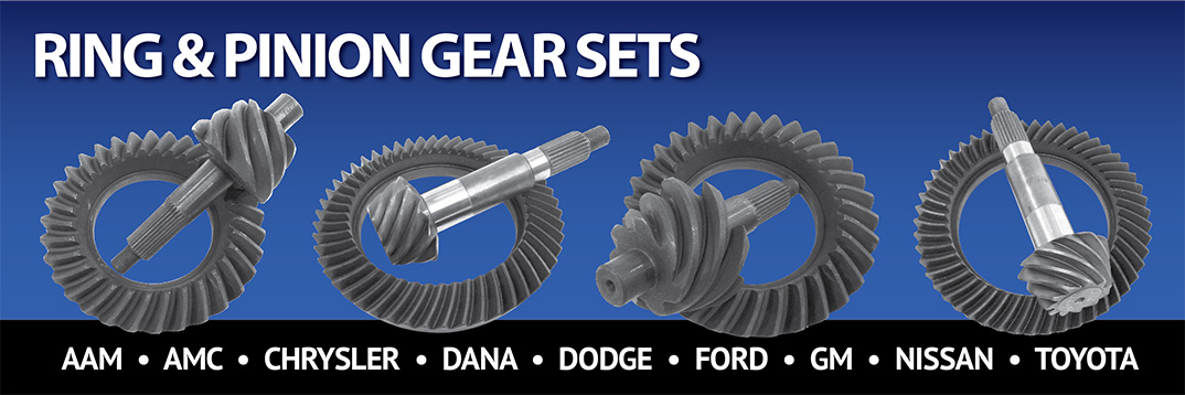 Ring Pinion Gear Sets for many Applications