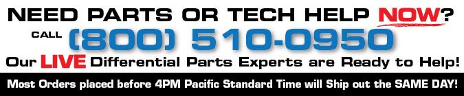 Differential Repair Parts