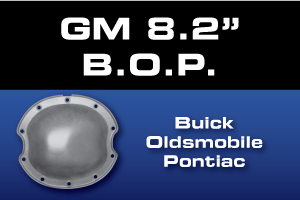 GM 8.2 BOP Buick Olds Pontiac Differential Parts - Gears, Axles, Ring Pinion, Kits, Spider Gears