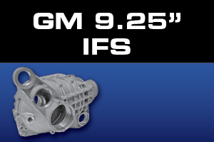 GM 9.25 Inch IFS Differential Parts - Gears, Axles, Ring Pinion, Kits, Spider Gears
