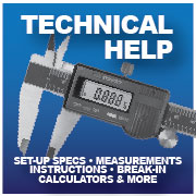 Differential Repair-Gear Ratio Calculators-setup specs-installation Instructions