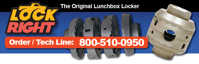 Lockright Locker Locking Differential Lunchbox