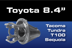 Toyota 8.4 Tacoma Tundra T100 Differential Parts Ring Pinion Kit
