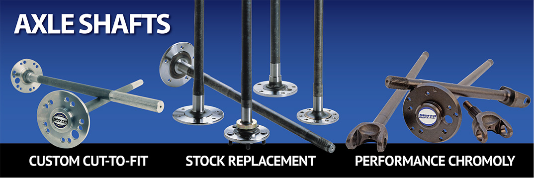 Axles Chromoly Performance OEM Stock Cut to Fit Axle Shafts