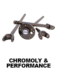 Axles - Stock Replacement and Chromoly Shafts | In-Stock