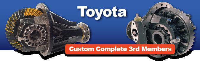 Rebuilt Toyota dropout 3rd member Third Member