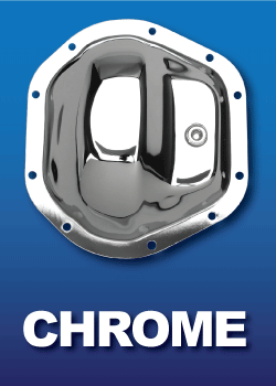 Chrome Differential Cover Shiny Leaky Diff Cover