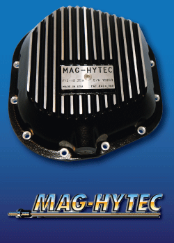 Mag Hytec Diff Differential Cover High Capacity Magnetic Plug