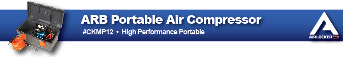 ARB Air Locker High Performance Pirtable Air Compressor