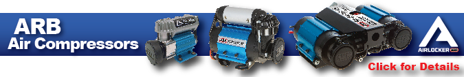 ARB Air Locker Air Compressor Information