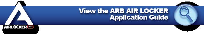 ARB Air Locker Differential Applications