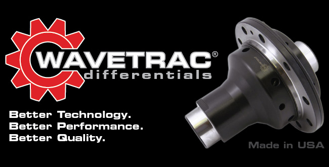Wavetrac Limited Slip Differential