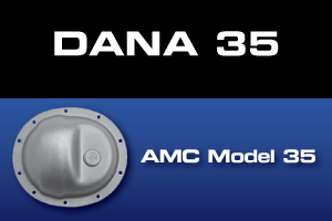 Dana 35 AMC Model 35 Differential Parts