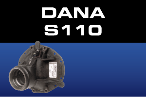Dana S110 Differential Parts - Gears, Axles, Ring Pinion, Kits, Spider Gears