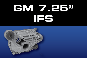 GM 7.25 Inch IFS Front Differential Parts - Gears, Axles, Ring Pinion, Kits, Spider Gears