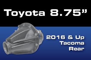 Toyota Tacoma 8.75 Rear Differential Gear Axle Parts