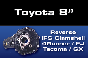 Toyota 4Runner FJ Tacoma Front Differential Parts - Gears, Axles, Ring Pinion, Kits, Spider Gears