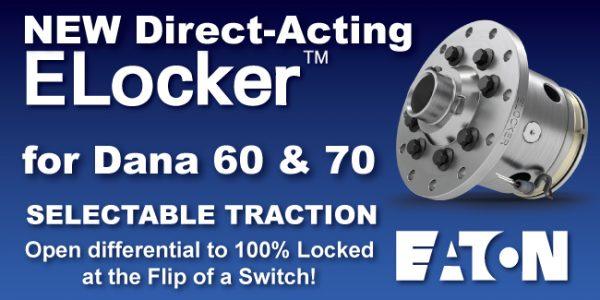 Direct Acting ELocker Dana 60 Dana 70