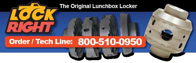 Lockright Locker Locking Differential Lunchbox