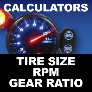 Differential Gear Ratio Calculator | West Coast Differentials