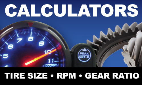 Differential Gear Ratio Calculator West Coast Differentials