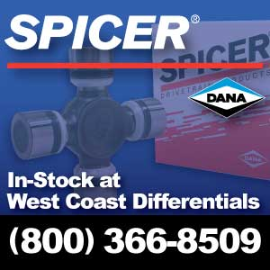 Dana Spicer Parts | In-Stock Now at West Coast Differentials