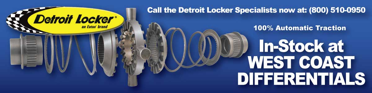 Detroit Locker   In Stock at West Coast Differentials