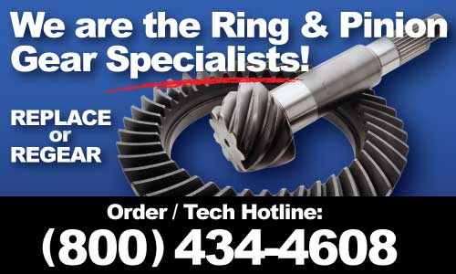 Ring & Pinion Gears • Same Day Shipping • West Coast