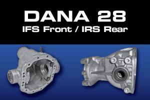 Dana 28 Differential Parts - Gears, Axles, Ring Pinion, Kit