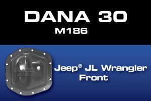Dana 30 M186 JL Wrangler Front Differential Parts