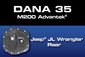 Dana 35 M200 Jeep JL Rear Gear Axle Ring Pinion Differential Parts