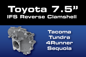 Toyota 7.5 Reverse Clamshell Reverse Front Ring Pinion Gear Axle Differential Parts