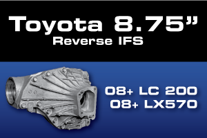 Toyota 8.75 Land Cruiser Landcruiser LX570 Ring Pinion Gear Axle Differential Parts