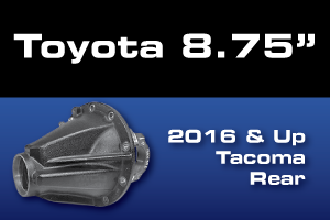 Toyota Tacoma 8.75 Rear Ring Pinion Gear Axle Differential Parts
