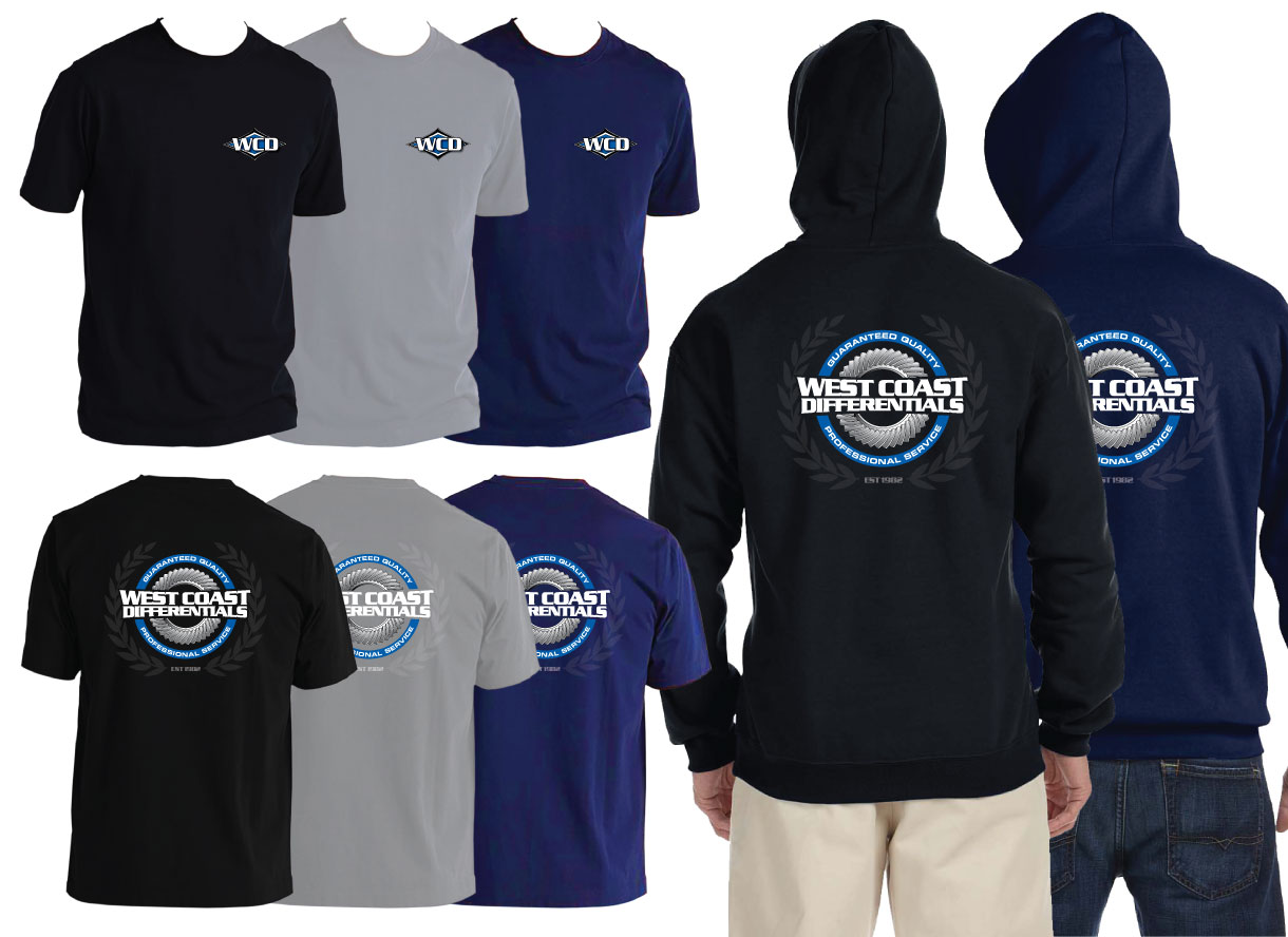 West Coast Differentials Shirt Hoodie Tee WCD Apparel