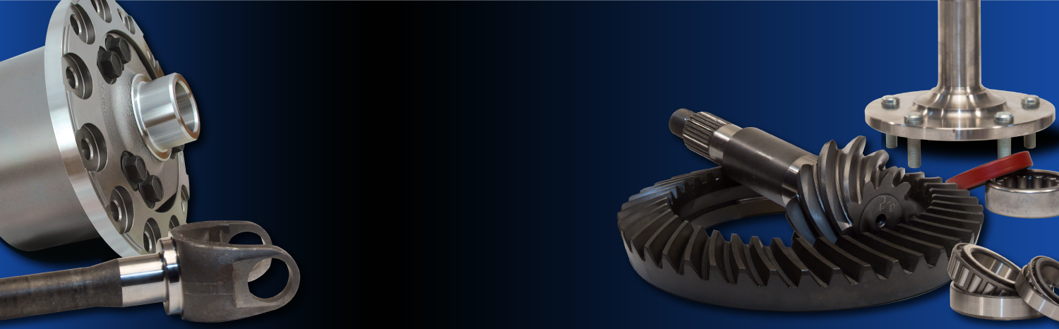 Differential Gear and Axle Parts from West Coast Differentials
