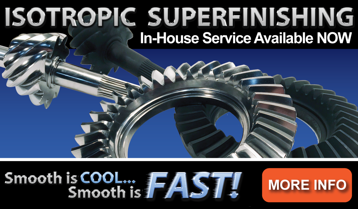 Isotropic Gear Finishing Service Available Now