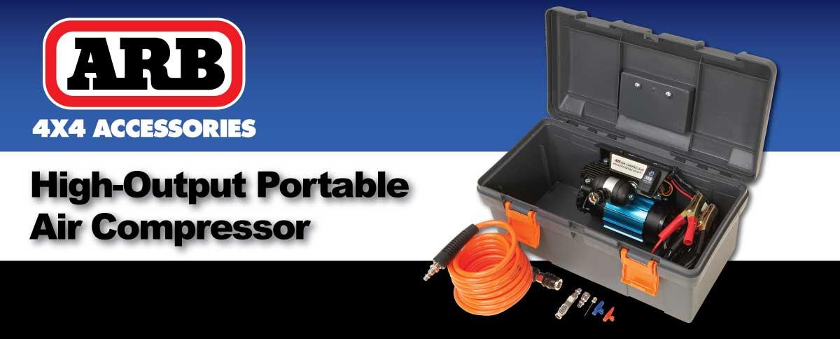 ARB Air Locker High Performance Portable Air Compressor