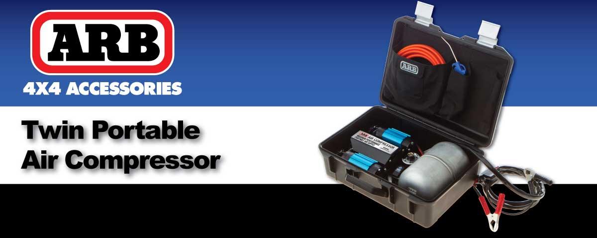 ARB Air Locker Twin Portable Air Compressor