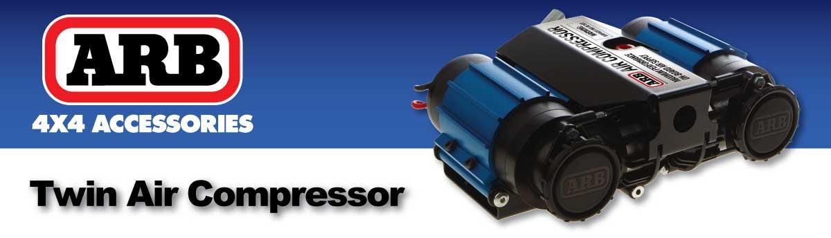 ARB Air Locker Twin High Performance Air Compressor